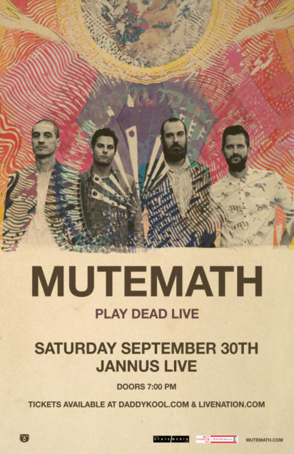 Mutemath Play Dead Live Tour 2017 Jannus Live St. Petersburg Florida