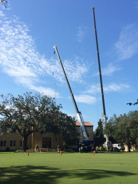 WPRK Antenna Damaged Orlando