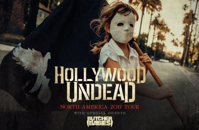 Hollywood Undead Butcher Babies North American 2017 Tour