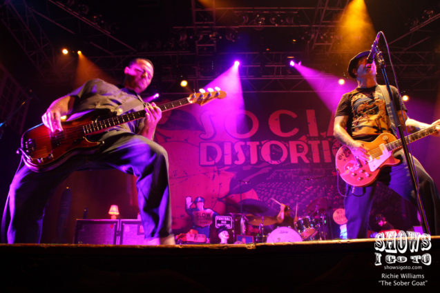 Social Distortion | House of Blues, Orlando, FL | August 25, 2017 | Photo by Richie Williams