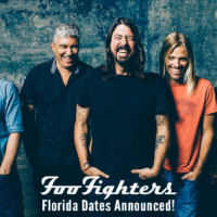Foo Fighters Florida Tour 2018