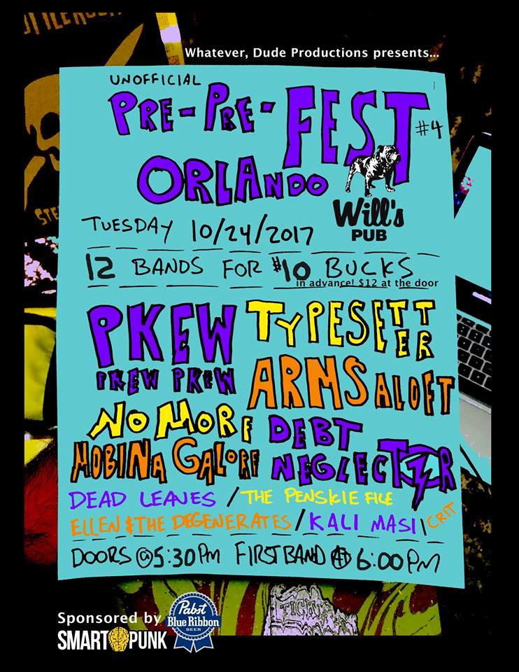 PRE-PRE- FEST Giveaway 2017 Orlando