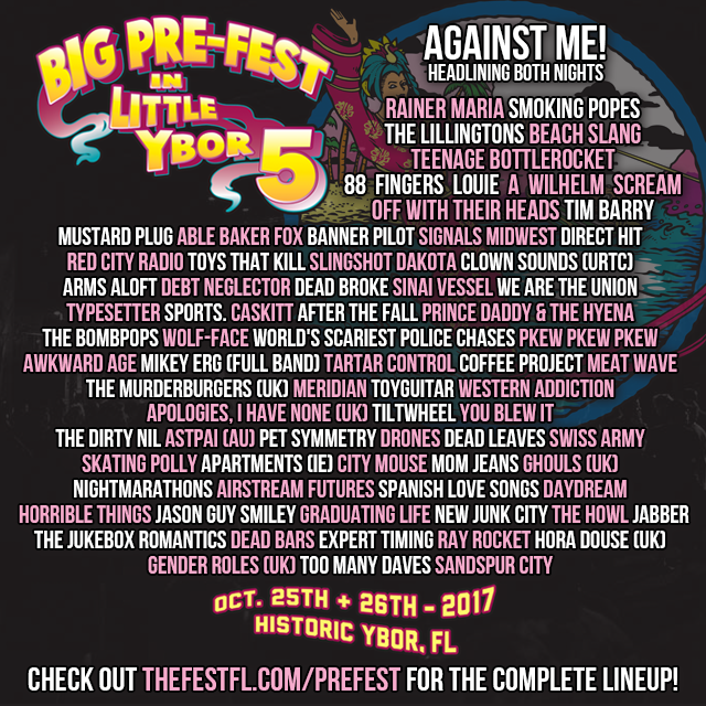 Pre-FEST Ticket Giveaway Tampa Ybor 2017
