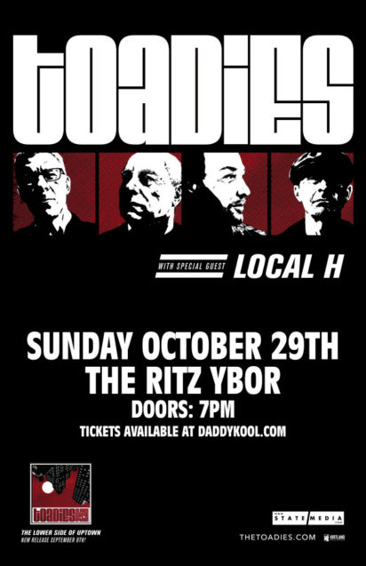 The Toadies Local H Ritz Ybor Tampa Florida 2017