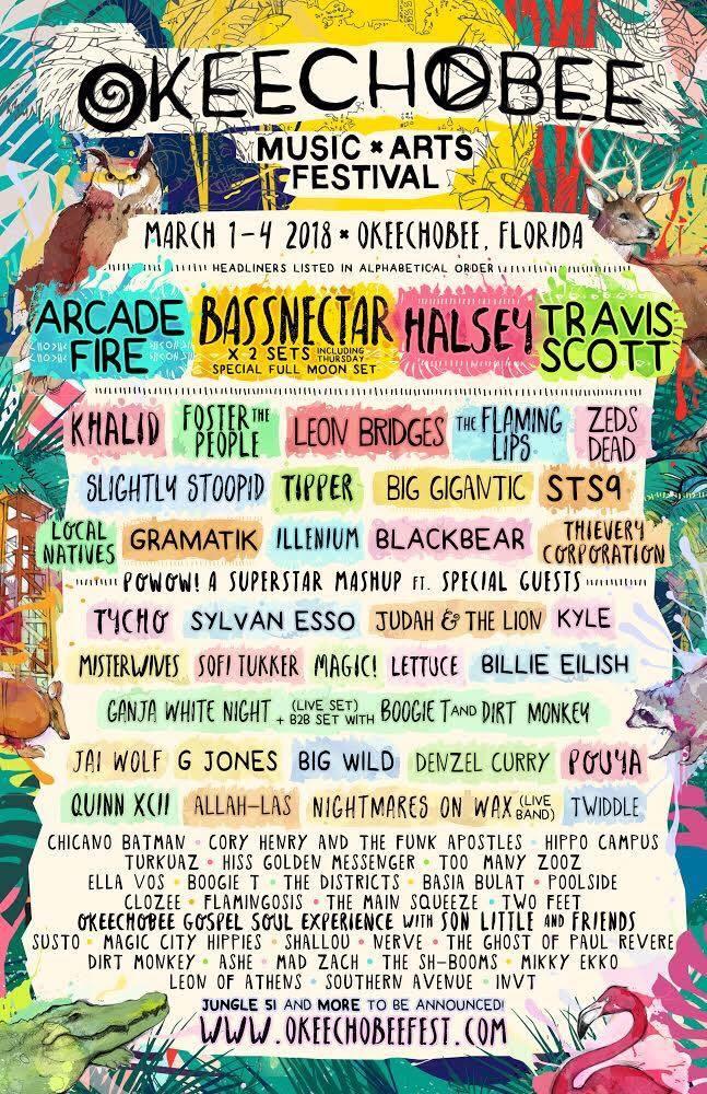 Okeechobee Music & Arts Festival 2018