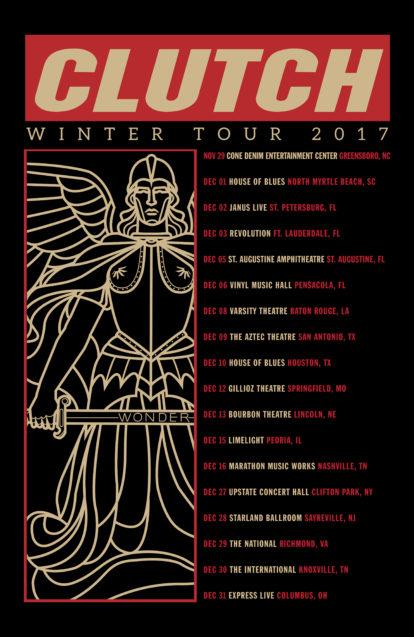 Clutch Winter Tour 2017