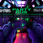 Foo Fighters Party Bus - site size