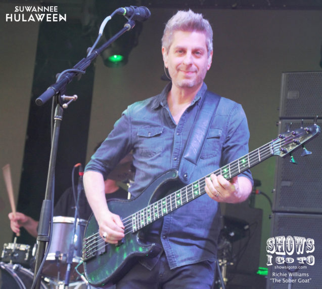 Mike Gordon | Suwannee Hulaween 2017 | Photo: Richie Williams (The Sober Goat)