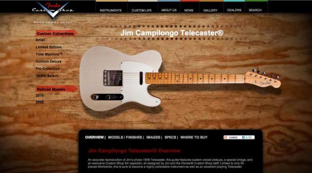 Jim Campilongo Telecaster
