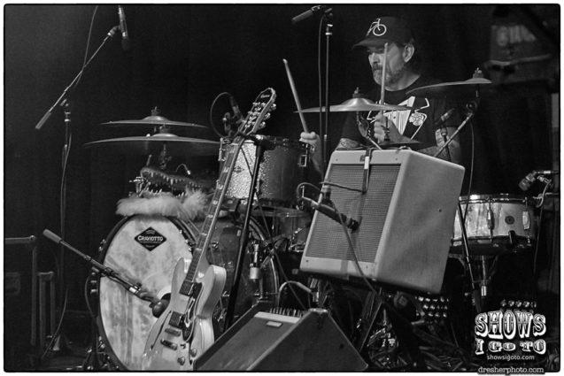 Lucero Live Review - Roy Drums