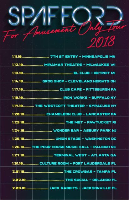 SPAFFORD Announces