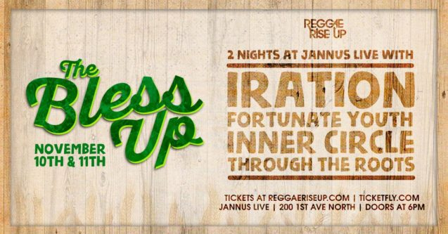 Reggae Rise Up, The Bless Up, Iration, Fortunate Youth, Inner Circle, Through The Roots, Jannus Live, St. Petersburg, Florida