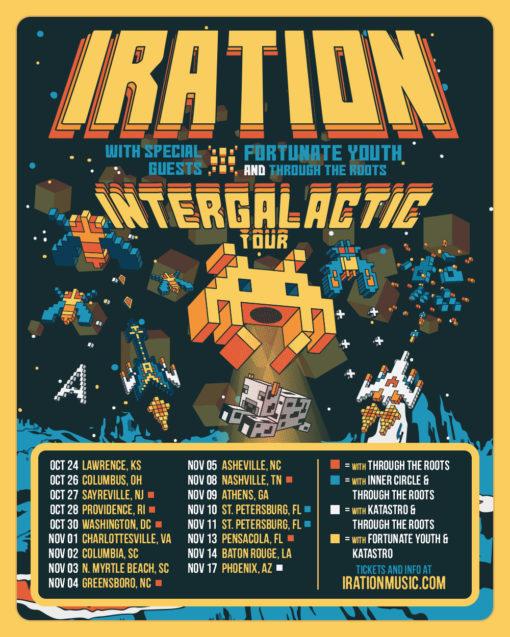 Iration Tour Poster 2017
