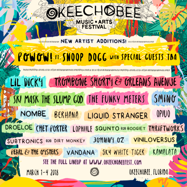 Okeechobee 2018 Lineup 2nd Wave