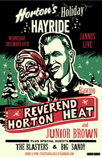 Reverend Horton Heat Holiday Hayride Tour 2017