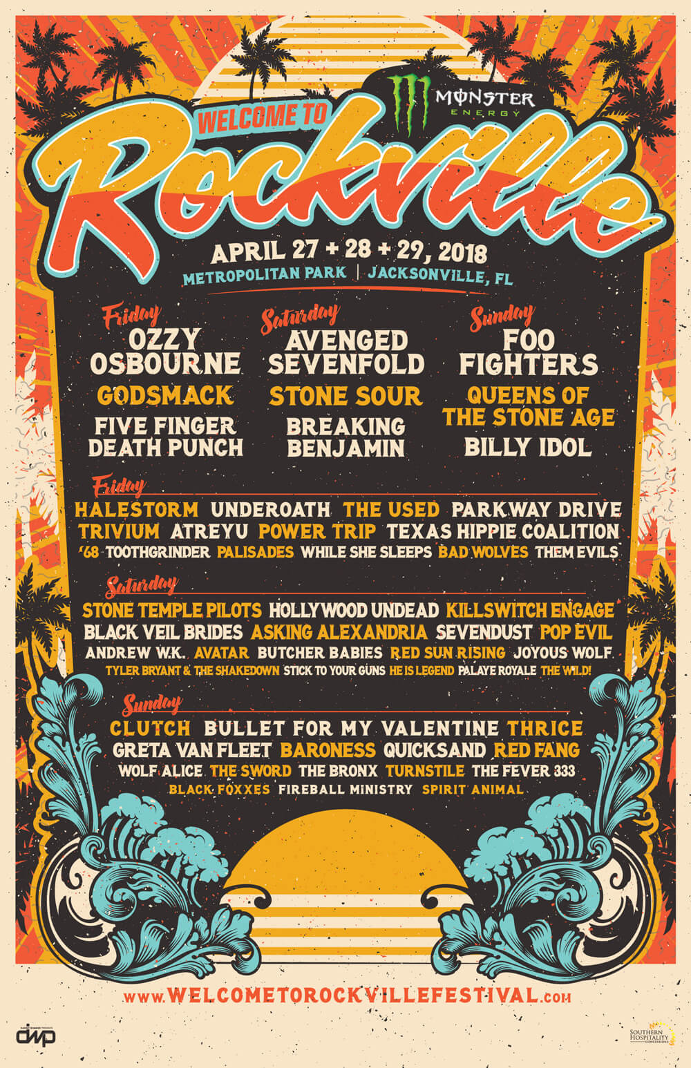 Welcome to Rockville Lineup 2018