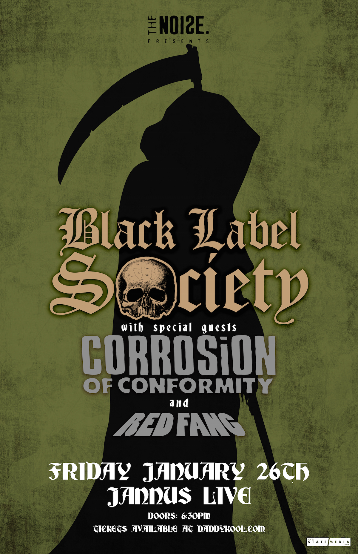 Black Label Society St Pete Concert 2018