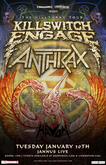Killswitch Engage & Anthrax - The Killthrax Tour, Havok