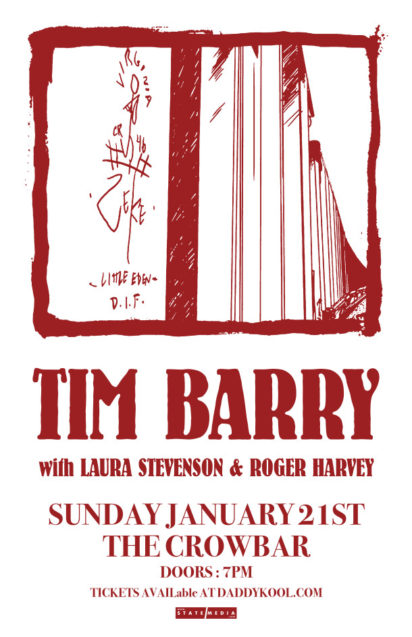 Tim Barry, Laura Stevenson, Roger Harvey, Crowbar, Tampa
