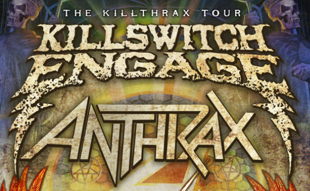 Killswitch Engage, Anthrax, The Killthrax Tour, Havok, Jannus Live, 2018