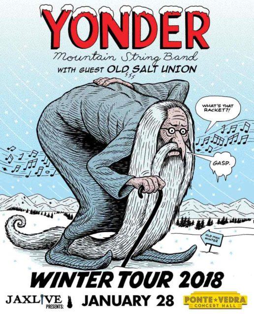 Yonder Mountain String Band Ponte Vedra 2018