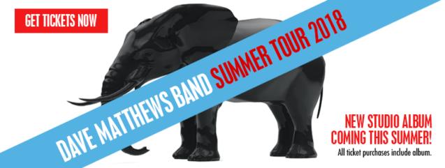 Dave Matthews Band MIDFLORIDA Credi Union Summer Tour 2018