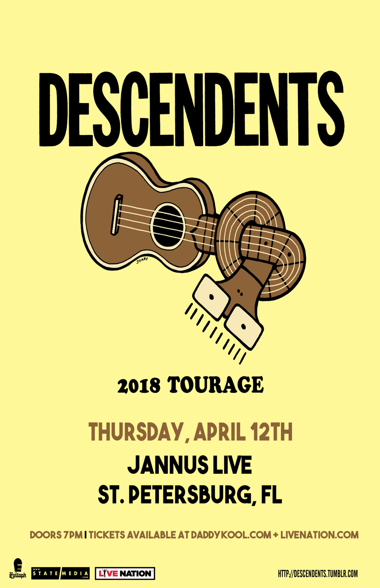 The Descendents Jannus Live 2018