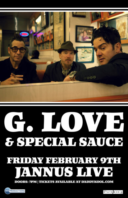 G. Love & Special Sauce at Jannus Live 2018