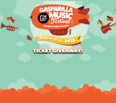 Gasparilla Music Fest 2018 Ticket Giveaway