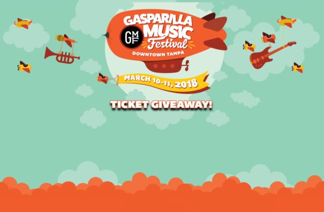 Gasparilla Music Fest 2018 Ticket Giveaway
