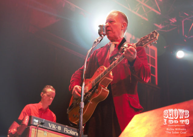Reverend Horton Heat | House of Blues, Orlando, Florida | December 22, 2017 | Photo by Richie Williams (The Sober Goat)