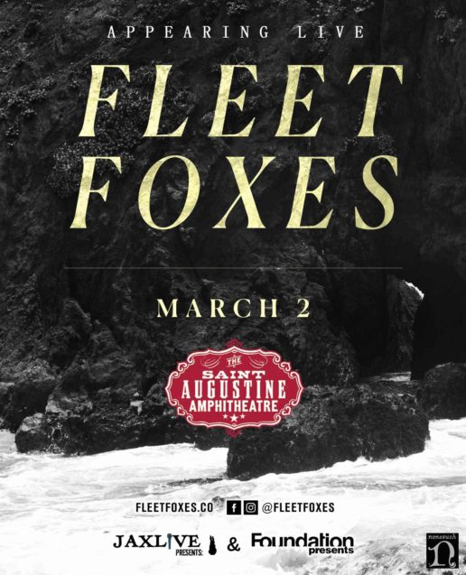 Fleet Foxes in St. Augustine 2018