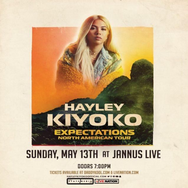 Hayley Kiyoko Jannus 2018