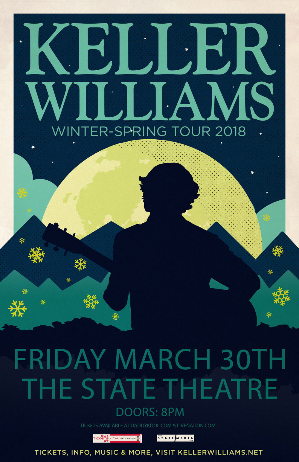 Keller Williams winter tour 2018 state theatre