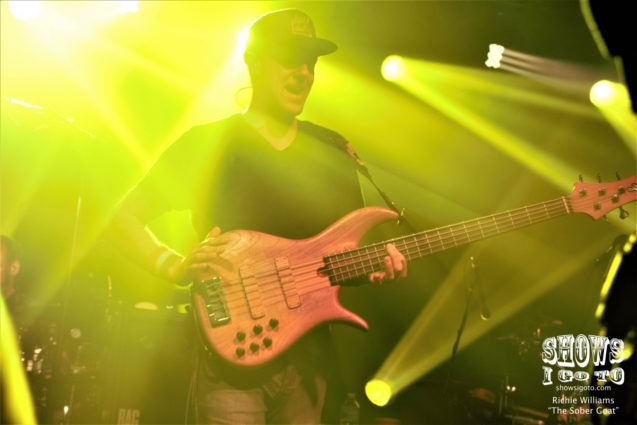 Umphrey's McGee at The Ritz Ybor in Tampa, Florida on Sunday, February 18, 2018. Photo by Richie Williams (The Sober Goat)