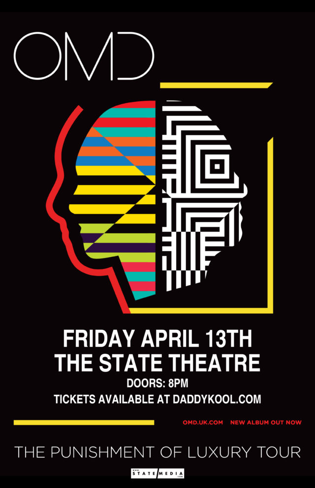 OMD (Orchestral Manoeuvres in the Dark) and GGOOLLDD at State Theatre 2018