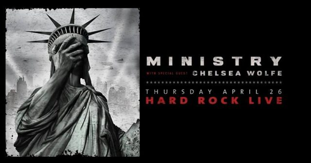 ministry with chelsea wolfe & the god bombs