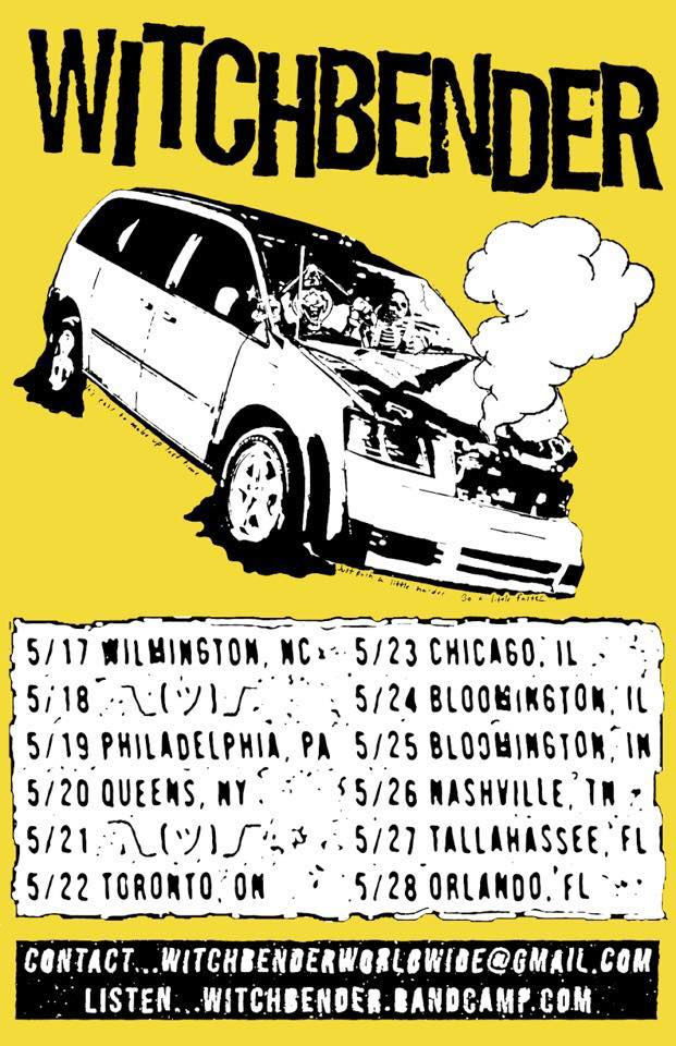 Witchbender Tour 2018