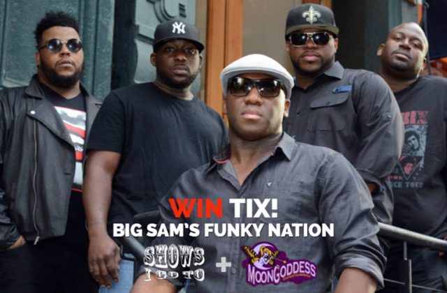 Big Sam's Funky Nation Crowbar Ybor City FL 2018