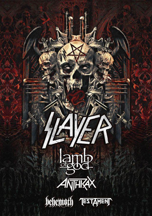 Slayer Orlando 2018 Florida