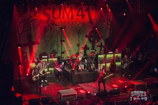 Sum 41 Live Review House of Blues Orlando FL 2018