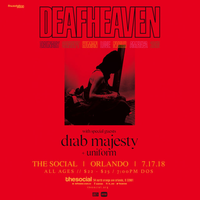 Deafheaven Orlando 2018
