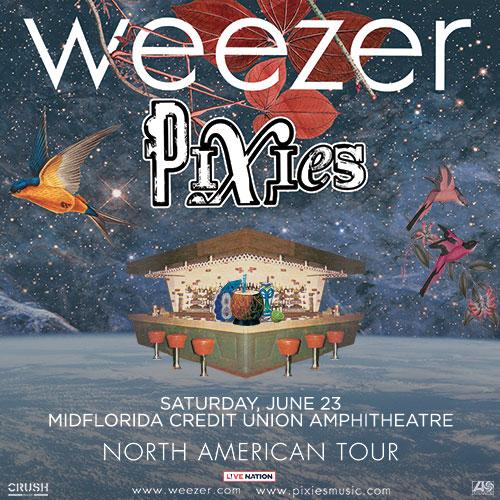 Weezer & Pixies Tampa 2018