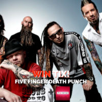FIVE FINGER DEATH PUNCH TAMPA 2018