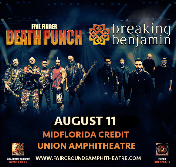 Five Finger Death Punch Tampa 2018 Tickets