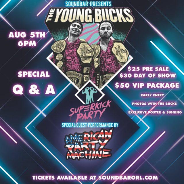 Young Bucks Orlando 2018