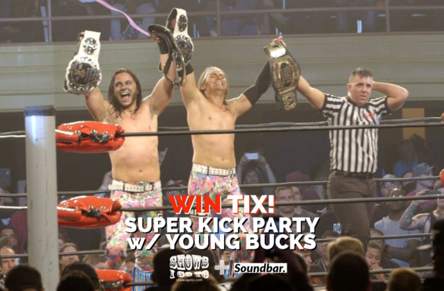 Young Bucks Orlando Super Kick Party