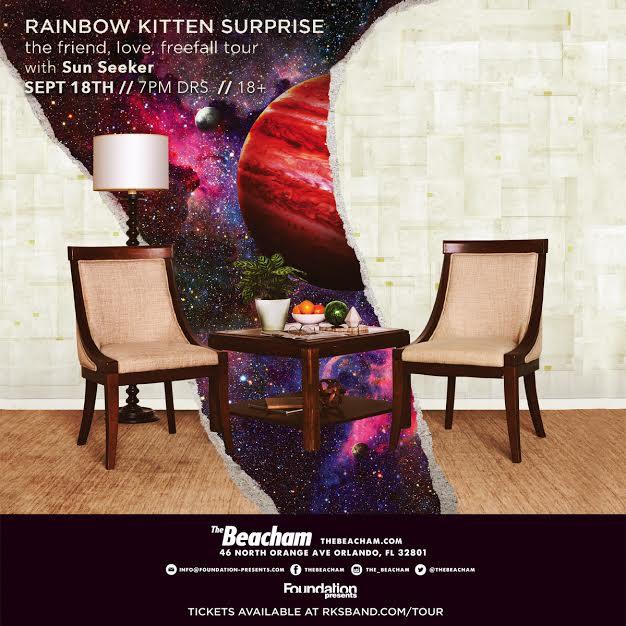 Rainbow Kitten Surprise Orlando 2018