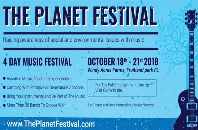 The Planet Festival 2018