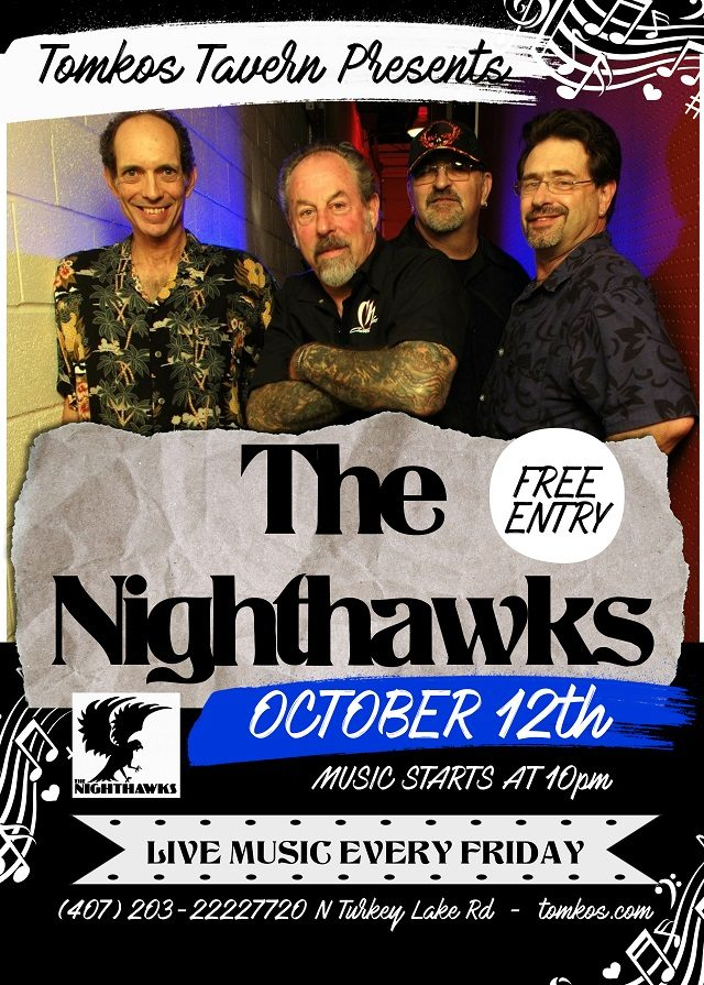 Live Music Friday Orlando Nighthawks Free